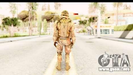 Danish Soldier para GTA San Andreas tercera pantalla