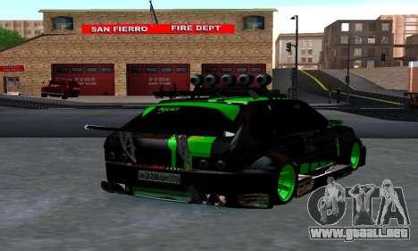 VAZ 2114 DTM para GTA San Andreas left