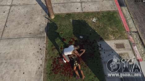 GTA 5 Extreme Blood 0.1 octavo captura de pantalla