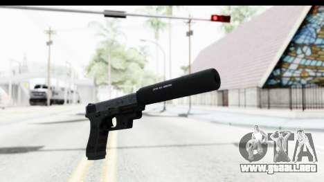 Glock P80 Silenced para GTA San Andreas segunda pantalla