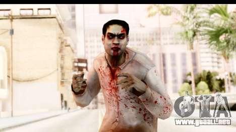 Left 4 Dead 2 - Zombie Shirt 1 para GTA San Andreas