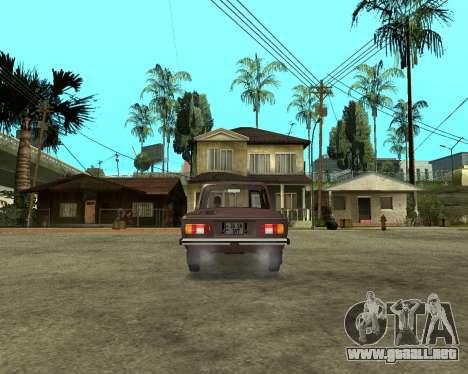 Zaz 968M armenia para GTA San Andreas left