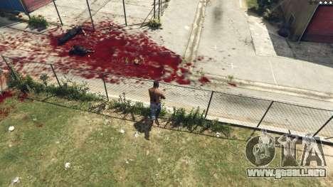 GTA 5 Extreme Blood 0.1 tercera captura de pantalla