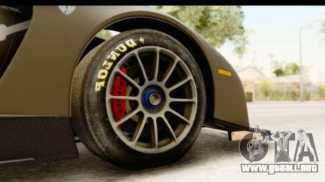Scuderia Glickenhaus SCG 003C para GTA San Andreas vista hacia atrás