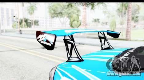 Nissan Silvia S15 D1GP Blue Toyo Tires para visión interna GTA San Andreas