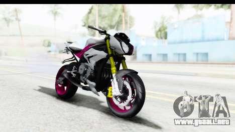BMW S1000R NICC para la visión correcta GTA San Andreas