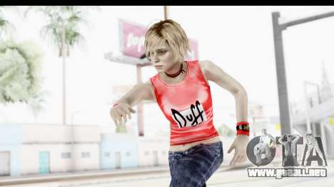 Silent Hill 3 - Heather Sporty Red Duff Beer para GTA San Andreas