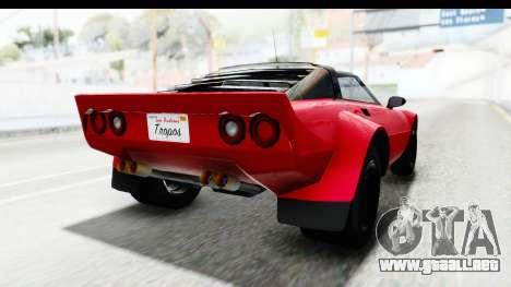 GTA 5 Lampadati Tropos IVF para la visión correcta GTA San Andreas