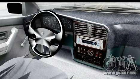 Renault 19 RE para visión interna GTA San Andreas