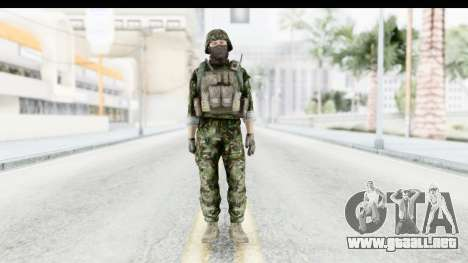 Global Warfare Balkan para GTA San Andreas segunda pantalla