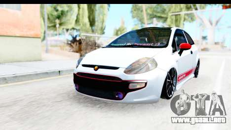 Fiat Punto Abarth para GTA San Andreas