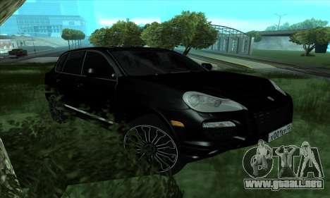 Porsche Cayenne para GTA San Andreas