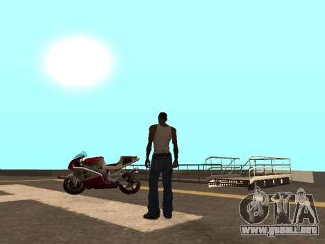 Cars spawn para GTA San Andreas segunda pantalla
