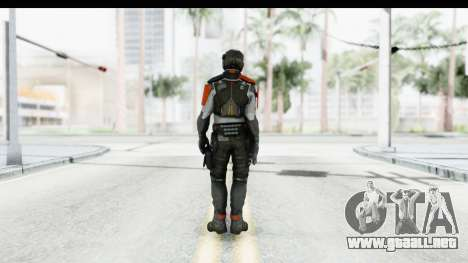 Homefront The Revolution - KPA v4 Captain para GTA San Andreas tercera pantalla