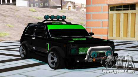 VAZ 21213 Niva 4x4, Tuning para GTA San Andreas