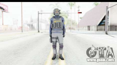 Quantum Break Monarch Operators para GTA San Andreas segunda pantalla