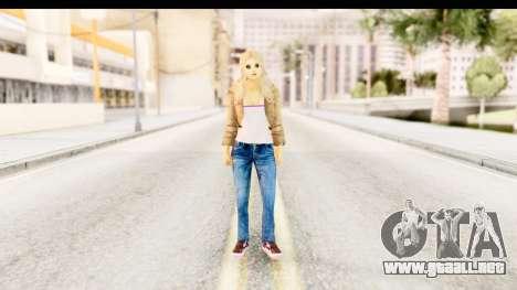 Girl from 90s para GTA San Andreas segunda pantalla