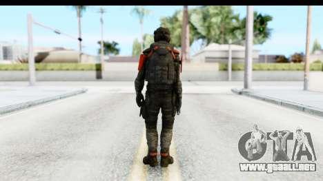 Homefront The Revolution - KPA v3 Camo para GTA San Andreas tercera pantalla