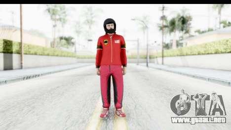 GTA 5 Online Cunning Stunts Skin 5 para GTA San Andreas segunda pantalla