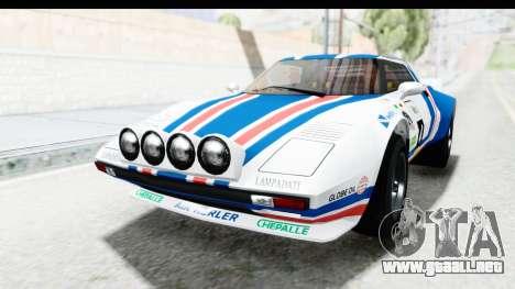 GTA 5 Lampadati Tropos IVF para el motor de GTA San Andreas