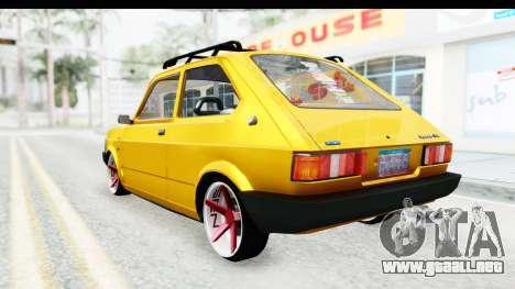 Fiat Spazio Tr Street para la visión correcta GTA San Andreas