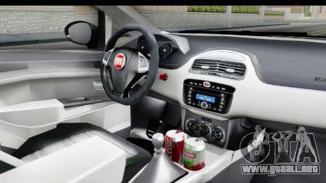 Fiat Linea 2015 v2 Wheels para visión interna GTA San Andreas