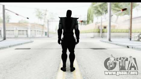 Mortal Kombat vs DC Universe - Noob Saibot para GTA San Andreas tercera pantalla