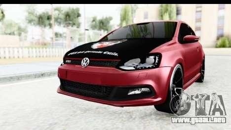 Volkswagen Polo para la visión correcta GTA San Andreas