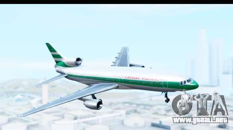 Lockheed L-1011-100 TriStar Cathay Pacific Air para GTA San Andreas