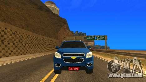 Chevrolet TrailBlazer 2015 LTZ para visión interna GTA San Andreas