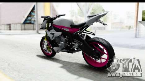 BMW S1000R NICC para GTA San Andreas left