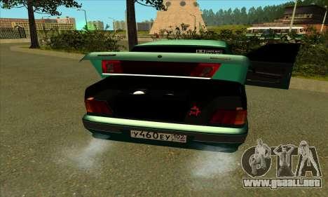 2115 para vista lateral GTA San Andreas