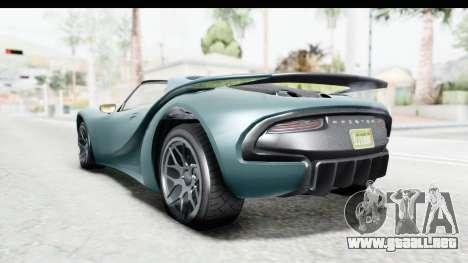 GTA 5 Pfister 811 para la visión correcta GTA San Andreas
