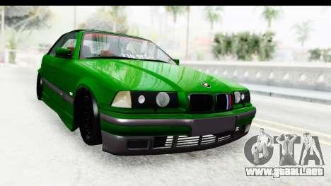 BMW M3 E36 Sloboz Edition para GTA San Andreas