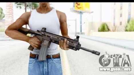 Heckler & Koch HK416 para GTA San Andreas tercera pantalla