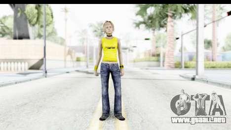 Silent Hill 3 - Heather Sporty Yellow Glasses para GTA San Andreas segunda pantalla