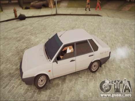VAZ 21099 LT para GTA San Andreas vista posterior izquierda
