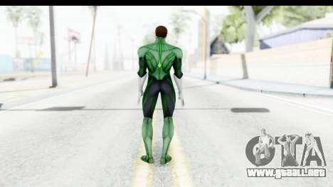 Injustice God Among Us - Green Lantern para GTA San Andreas tercera pantalla