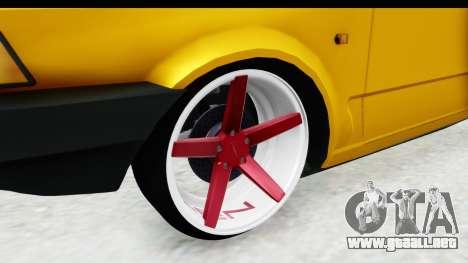 Fiat Spazio Tr Street para GTA San Andreas vista hacia atrás