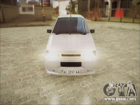 VAZ 21099 Kolxz para GTA San Andreas left