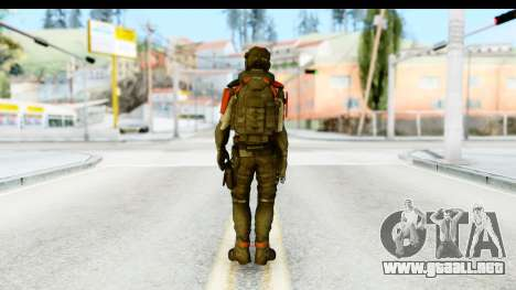Homefront The Revolution - KPA v1 Captain para GTA San Andreas tercera pantalla