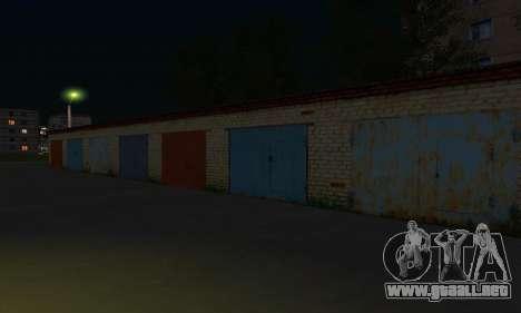 El nuevo distrito cerca de Arzamas para GTA San Andreas twelth pantalla