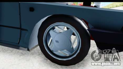 Fiat 147 para GTA San Andreas vista hacia atrás