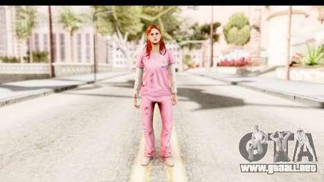 Silent Hill Shattered Memories - Lisa Garland para GTA San Andreas segunda pantalla