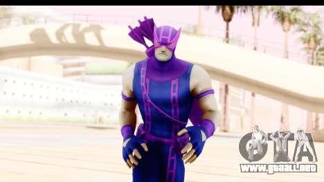 Marvel Heroes - Hawkeye para GTA San Andreas