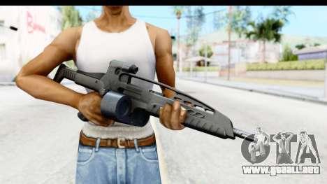 H&K XM8 Drum Mag para GTA San Andreas tercera pantalla