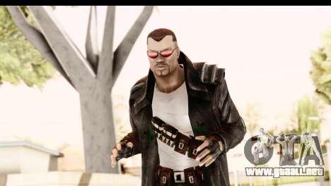 Marvel Heroes - Blade para GTA San Andreas