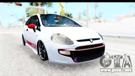 Fiat Punto Abarth para GTA San Andreas left