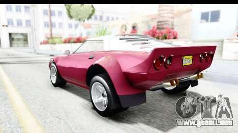 GTA 5 Lampadati Tropos Rallye No Headlights para GTA San Andreas left