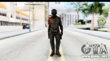 Homefront The Revolution - KPA v3 Camo para GTA San Andreas segunda pantalla